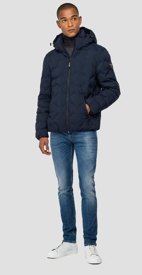 Padded quilted jacket