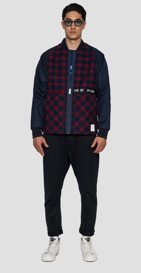 SPORTLAB jacket in checked fabric