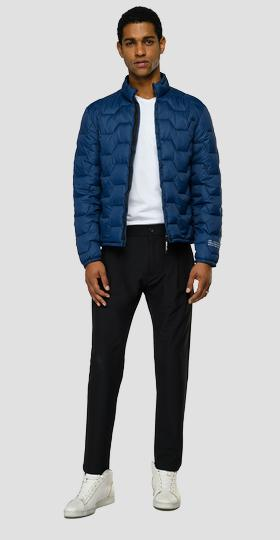 Half neck mid weight recycled jacket
