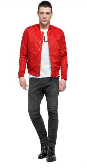 Solid twill bomber jacket m8868 .000.82834