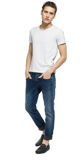 Anbass Hyperfree slim fit jeans m914  .000.49b a02