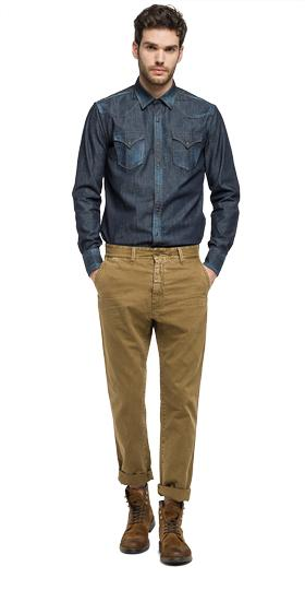 Nickave slim-fit trousers m9519 .000.8099831