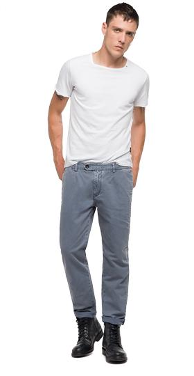 Styver slim-fit trousers m9554 .000.8099831