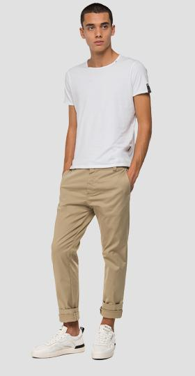 Tailored stretch Chino trousers
