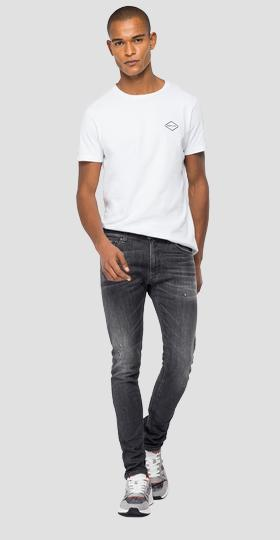 Skinny fit Aged Eco 5 Years Organic Jondrill jeans