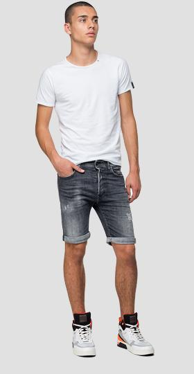 Aged 5 years RBJ901 tapered fit bermuda shorts