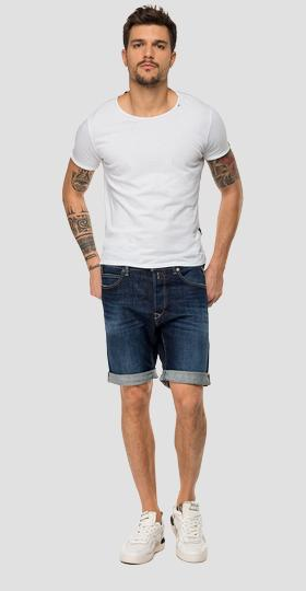 Tapered fit RBJ901 bermuda shorts