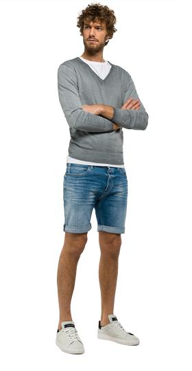 Rbj.901 tapered-fit bermuda shorts ma981 .000.23c 940