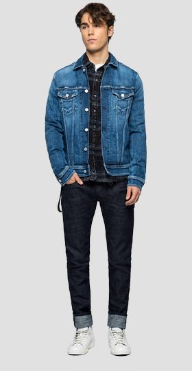Regular fit jacket in Aged 5 years Sustainable denim