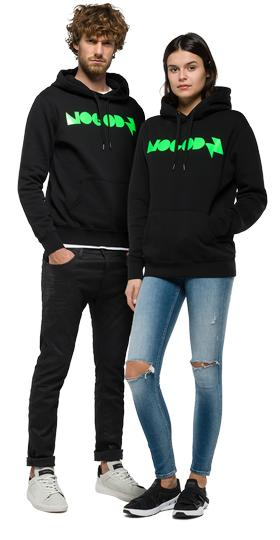 Sudadera unisexo Nogodz by Replay nm7012.000.j21842
