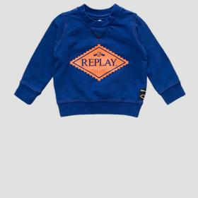 REPLAY crewneck sweatshirt