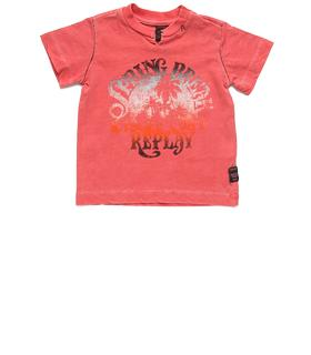 Boys' distressed print T-shirt pb7526.050.20512