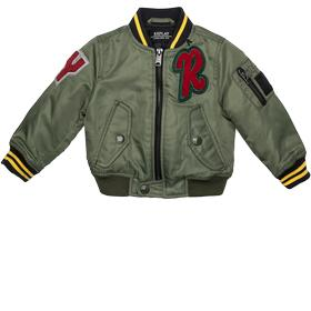 Bomber jacket with patches pb8126.050.82504