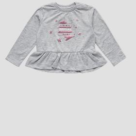 REPLAY t-shirt with glitter print