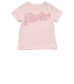 """Camiseta para niña con estampado """"REPLAY"""""" pg7491.054.20994"