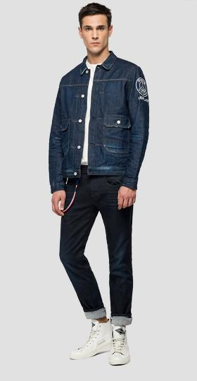 Replay PSG dark denim jacket
