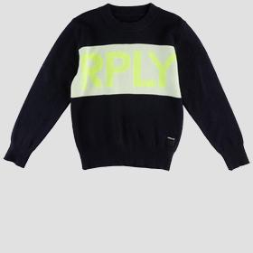 RPLY cotton sweater