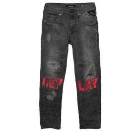 Ripped slim-fit jeans sb9011.012.15d 433