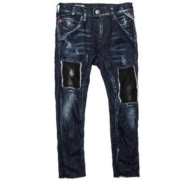 Ripped drop-crotch slim-fit jeans sb9358.050.69c 472