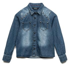 Girls' denim shirt sg1038.051.40a 294