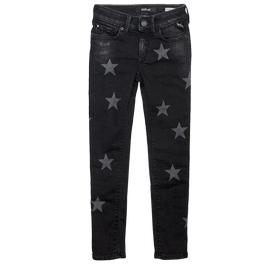 Skinny Fit Jeans mit Sternmuster sg9208.072.19d 913