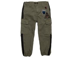 Stretch satin cargo trousers sg9268.050.80751p