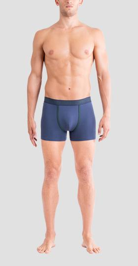 Pack of 2 boxer briefs with contrast trimming