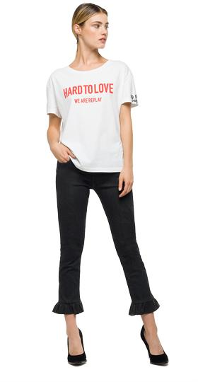 We Are Replay jersey T-shirt vd7624.000.v21384