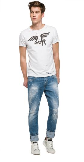 We are Replay Evidio slim fit jeans vu1725.000.v419g70