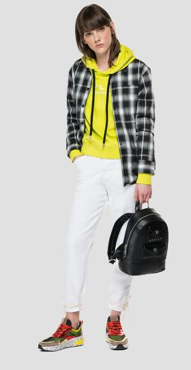 REPLAY boy fit checked shirt