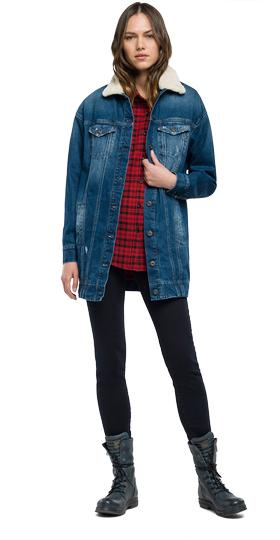 Bright indigo denim jacket w7282s.000.34c 170