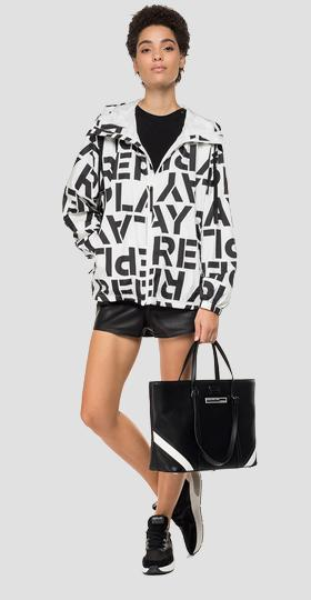 Jacket with Replay print
