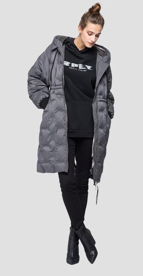 Long quilted REPLAY jacket