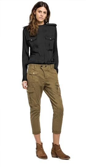 Cotton cargo trousers w8819 .000.80737g