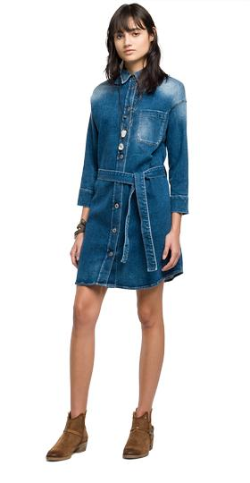 Kleid aus Super Stretch Denim w9295 .000.69c 171
