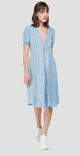 /us/shop/product/midi-dress-in-denim-with-v-neck/12946