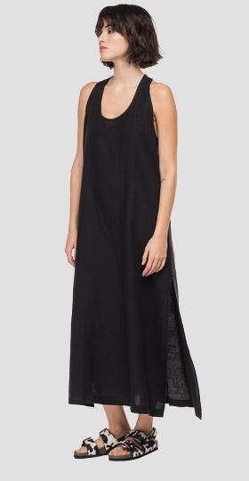 /us/shop/product/essential-long-dress-in-linen/12952