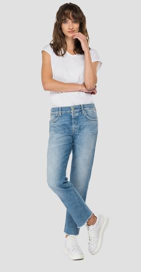 ROSE LABEL straight fit Joplyn jeans