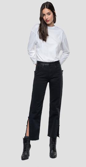 Carrot high waist fit Caren Maestro jeans