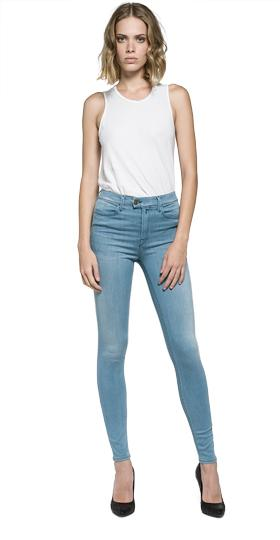Super high waist skinny fit Touch jeans                                                                                                                                     wa642 .000.47c t09