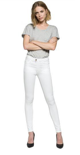 Super high waist skinny fit Touch jeans wa642 .000.81047t1