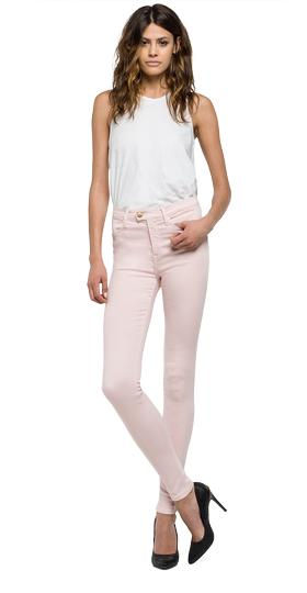 Jeans super high waist skinny fit touch wa642 .000.81047t9