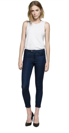 Cropped super skinny fit Touch jeans wa643 .000.47c t01