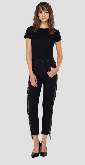 Slim fit cigarette crop Faaby jeans