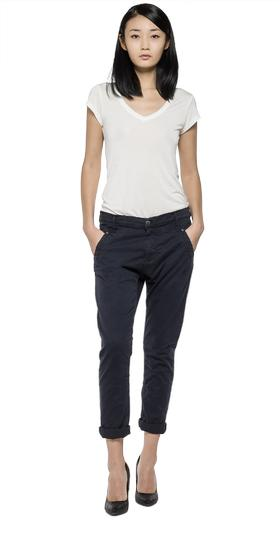 Denice drop-crotch slim trousers wb605 .000.8551s80