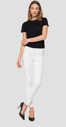 Jean coupe skinny high waist fit New Luz Ankle Zip