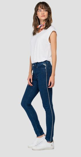 High waist skinny fit Luzien jeans