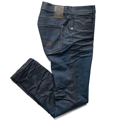REPLAY ANBASS SLIM FIT DENIM JEAN REPLAY HYPERFLEX JEANS VARIOUS COLOURS