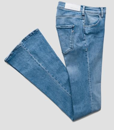 Replay Kids Light Blue Flared Jeans Flared Jeans