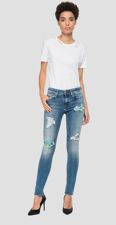 Skinny high waist fit New Luz jeans wh689t.000.227619r